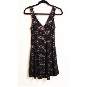 Lush   NWT black lace dress